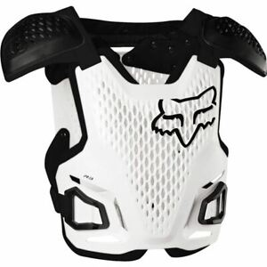 Fox Racing R3 Roost Deflector - White/Black, All Sizes
