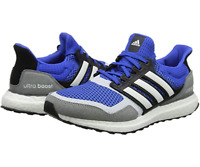 Adidas UltraBoost S&L M Ultra Boost Running Shoes Blue White Grey UK 9.5