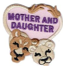 Girl MOTHER & DAUGHTER trip Event Day Fun Patches Crests Badges SCOUT GUIDE Mom