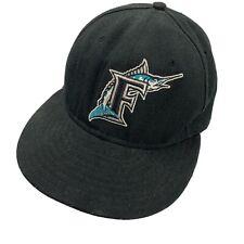 Florida Marlins New Era Ball Cap Hat Fitted 7 1/4 Baseball