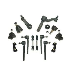 Ball Joint Tie Rod Pitman Idler Arm Sway Bar 14pc for Chevrolet GMC C1500 C2500