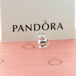PANDORA Sterling Silver Cat Charm 790284