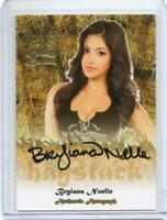 Bryiana Noelle Benchwarmer 2015 Daizy Dukez Haystack Autograph Card