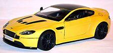 Aston Martin V12 Vantage S 2014-16 jaune jaune métallique 1:24