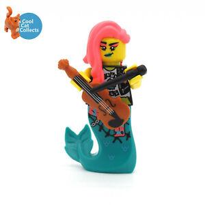 Genuine Lego Vidiyo Mermaid Violinist Minifigure (vid030) + Acessory from 43114
