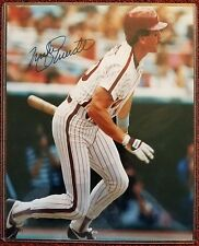 MIKE SCHMIDT Signed/Autographed 8 X 10 Photo With (COA) PHILLIES HOF *FREE SHIP*
