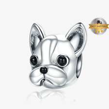 French Bulldog Charm For  Bracelet, Birthday Gift And Mothers Day Gift
