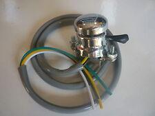 Réplica Lucas Cromo Pulsador Cuerno & interruptor, Bsa, Norton, Triumph lu31563
