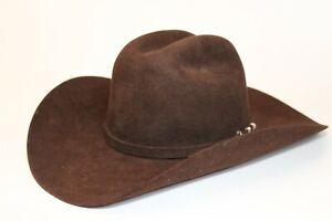 Stetson Mens Size 7 Wool Fedora USA Made Cowboy Hat