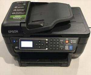 Epson WorkForce WF-2750 All In One Inkjet Printer WiFi Copy Scan Fax Needs Ink