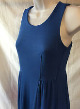 Donna Ricco NY Blue Fit & Flare Dress Sleeveless Size XS