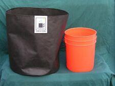 "20""x22"" 4 cu.ft Air & Water permeable, reusable, portable fabric grow pots 3 pk."