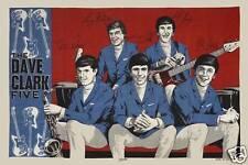 Rock: The Dave Clark Five Group Poster Circa 1960's