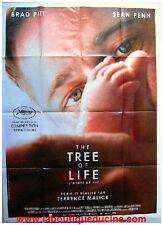 TREE OF LIFE Affiche Cinéma / Movie Poster BRAD PITT SEAN PENN TERRENCE MALICK