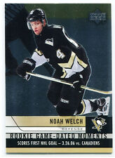 2006-07 Upper Deck Rookie Game Dated Moments 24 Noah Welch Rookie