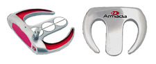 """#1 STROKE SAVR RED TOOTH SERIES FANGS WHITE HOT LONG XG BELLY GOLF PUTTER 40-49"""""""
