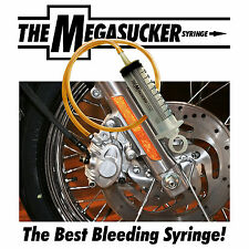 Motorcycle Brake Bleeding Syringe, Motorbike Fork Oil Filling Gearbox MEGASUCKER
