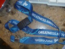 PlayStation lanyard Blue ID Badge, Key Chain holder E3 2016