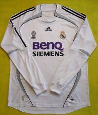 5/5 REAL MADRID 2006~2007 HOME JERSEY SHIRT CUP ORIGINAL FOOTBALL ADIDAS
