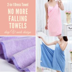 Hot Trend 2019 - 2-in-1 Towel Dress