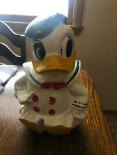 Antique Donald Duck Cookie Jar Vintage