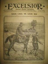 WW1 N° 1879 ROI PIERRE DE SERBIE EXODE CINEMATOGRAPHIE MER NOIRE EXCELSIOR 1916
