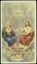 "santino-holy card""""ediz. EB-n.2/255 SS.COR MARIAE ET COR IESU"