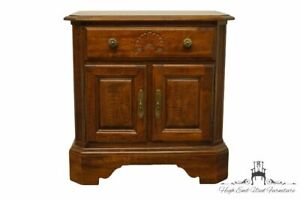"""KELLER FURNITURE Solid Cherry Traditional Style 25"""" Cabinet Nightstand"""