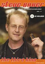 Blues harmonica playalongs Volume 3 Livre / CD de musique Steve Baker Play-Along
