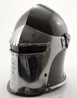 New Super Medieval Barbute Helme Armour Helmet Roman knight helmets