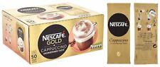 NESCAFÉ GOLD Unsweetened Cappuccino Sachets, Box of 50