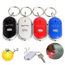 Wireless Seeker Voice Control Keychain Light Anti-Lost Tracker Key Finder Alarm