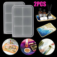 Epoxy Resin Coaster Molds Silicone Fruit Tray Mold Casting Making Mould DIY Tool