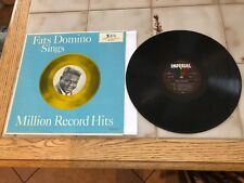 FATS DOMINO~Sings Million Record Hits~LP~IMPERIAL~STARS~LABEL~NEAR~MINT~VINYL~DG