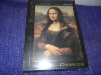 Clementoni Museum Collection Mona Lisa 1000 Piece Jigsaw Puzzle New