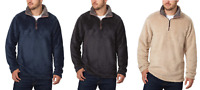 NWOT Trinity Men's Plush ¼ Zip Pullover, VARIETY/COLOR/SIZE