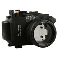 Meikon 40M Underwater Camera Case Housing Diving for Sony NEX7 16-50mm Lens Cam