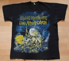 Iron Maiden , Live after Death Shirt , 1985 , Metal Collection Wear , Size XL