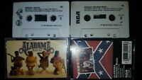 2 Classic Vintage Cassette Tapes - ALABAMA - Mountain Music & Just Us