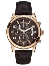 Relojes de pulsera GUESS de acero inoxidable dorado para hombre
