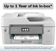 Brother MFC-J6545DW INKvestment Tank Color Inkjet All-in-One Printer with