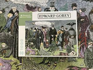 Edward Gorey Gothic Halloween 1000 Piece Puzzle Pomegranate Complete