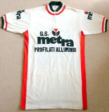 "EXCELLENT 1970'S 100% WOOL ITALIAN TEAM JERSEY. 37-40"" CIRCUMFERENCE. EROICA?"