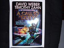 DAVID WEBER & TIMOTHY ZAHN – A Call To Duty (Hardback, 2014)