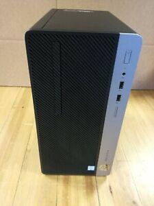 Ordinateur de Bureau HP Prodesk 400 G4 i3-6100 3.70GHz 4Go 500Go Win10