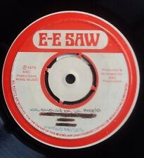 """PABLO MOSES We Should Be In Angola RARE JAMAICA 7"""" Vinyl Single MISLABELLED N.M."""