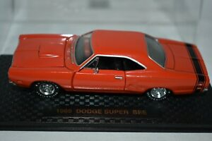 Road Champs 1969 Dodge super Bee Orange
