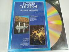 Jacques Cousteau Beyond les Antipodas Aventure Underwater - Laserdisc Ld