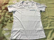 FilmWerks International Inc White Tee Shirt T-Shirt Small S Women Ladies Graphic