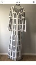 ASILIO 'Sovereign Scene' Fit & Flare Maxi Dress ~Size 12~ RRP $300